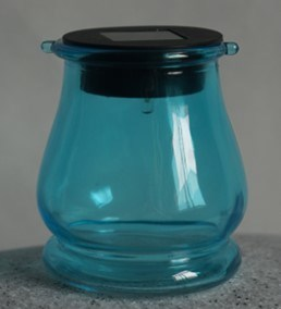 Solar Power LED Glass Bottle Light pictures & photos