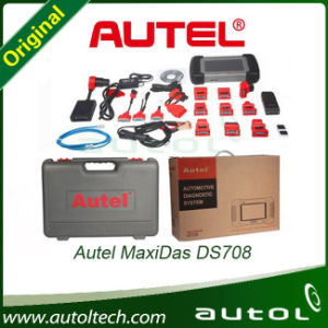 2016 Autel Maxidas Ds708 Supper Diagnostic Scanner Multi-Language Online Update pictures & photos