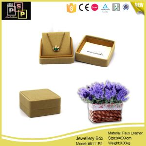 Promotioanal OEM Color Factory Direct Velvet Pendant Gift Box pictures & photos