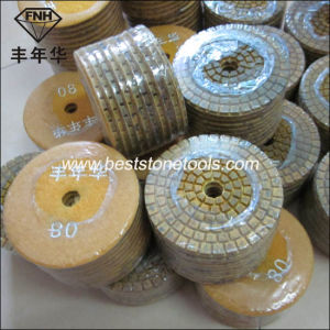"Wd-9 Diamond Hybrid Metal Polishing Pad (3-6"")"