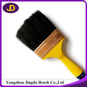 Best Selling Plastic Handle Black Bristle Paint Brush pictures & photos
