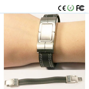 Bracelet Design Leather USB Flash Drive (SWD) pictures & photos