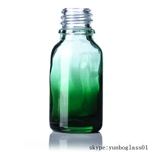 15ml 1 Oz 2oz Green Blue Shaded Glass Bottle for Perfume pictures & photos