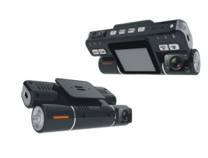 Dual Cameras Car Black Box with G-Sensor (SP-706)