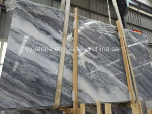 Chinese Fantasy Grey Marble Tile for Wall and Floor