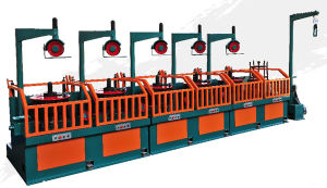 High Speed Pulley-Type Wire Drawing Machine (LWX1-6/450) pictures & photos