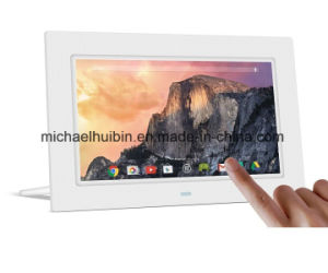 Customized 7 Inch LCD Touchscreen WiFi Digital Photo Frame (A7001T) pictures & photos