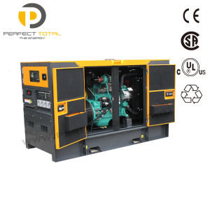 100kw Large Power Soundproof Diesel Generator