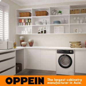 Oppein Australia Villa Lacquer Wooden Laundry Room (OP15-WR01) pictures & photos