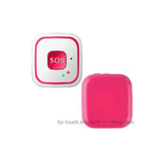 Fall Down Alarm Mini GPS Tracker with Large Sos Button pictures & photos