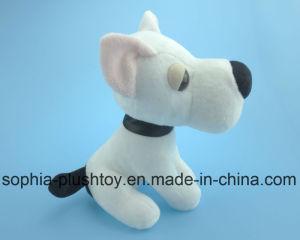 Soft Stuffed Plush Dog Toy White Dog pictures & photos