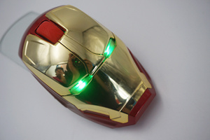 3 Keys 2.4G Wireless Iron Man Mouse pictures & photos