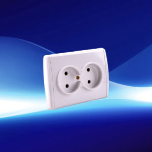 European 2 Gang Socket 10A/250V (YW21111)