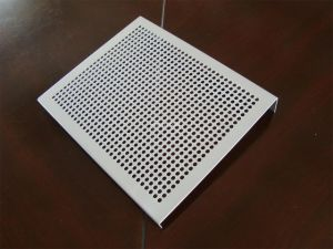 Tec-Sieve Round Hole Perforated Metal Sheet with Bent Edges pictures & photos