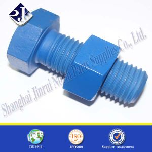 Asme Grade 5 PTFE Plated Hexagonal Bolt pictures & photos