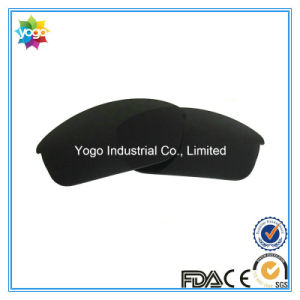 Wholesale UV400 Solid Black Polarized Sunglass Lens