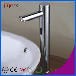 Fyeer High Body Touchless Automatic Washbasin Sensor Tap (QH0135H) pictures & photos