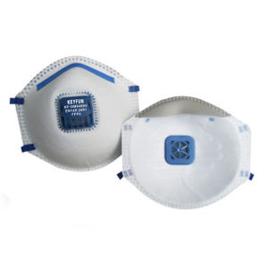 En149 Ffp2 Niosh N95 Particulate Trespirators with Exhalation Valve Mask pictures & photos