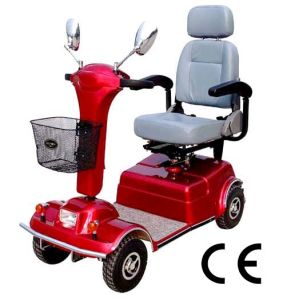 4-Wheel Electric Mobility Scooter Handicapped Scooters pictures & photos
