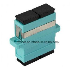 Aqua Om3 Sc Simplex/Duplex Fiber Optic Adapter pictures & photos