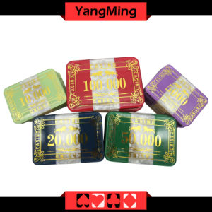 760PCS Plastic Poker Chips Set / Acrylic Casino Chips Set for Casino 5 - 8 Players (YM-FOCP002) pictures & photos