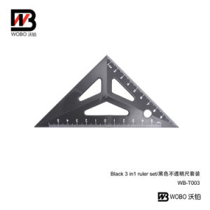 2016 Flat Ruler and Protactor Stationery Geomery Set pictures & photos