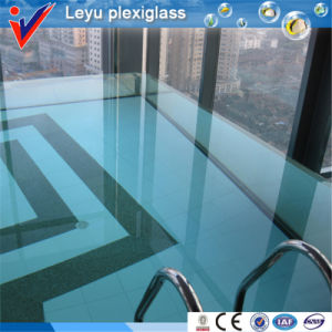 100%Lucite Virign Material Clear Acrylic Swimming Pool