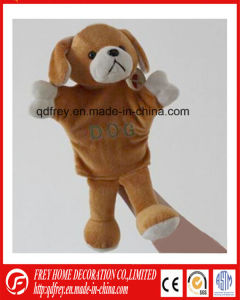 Plush Dog Hand Puppet Toy for Christmas Gift pictures & photos