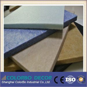 Fireproof Polyester Fiber Acoustic Panel pictures & photos