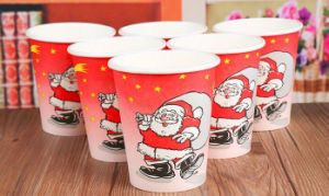 Christmas Disposable Coffee Paper Cup pictures & photos