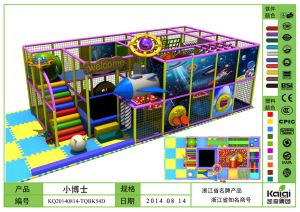 Kaiqi Planet Syle Indoor Play Are for Children (KQ20140814-TQBK54D) pictures & photos