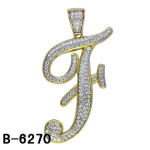 High Quality Fashion Accessories Letter Pendant Silver 925 pictures & photos