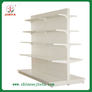 Beautiful Designed White Shelf with Advertising Board pictures & photos