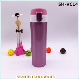 304 Double Wall Stainless Steel Travel Mug Promotional Thermos (SH-VC14) pictures & photos