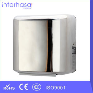 High Speed Brush Motor 304 Stainless Steel Sensor Hand Dryer pictures & photos