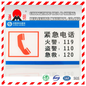 Pet Type Advertisement Grade Reflective Sheeting Vinyl for Advertising Signs Warning Board (TM3100) pictures & photos
