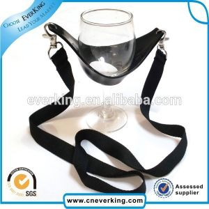 Promotion Low Price Wine Cup Holder Lanyard with Custom Logo pictures & photos