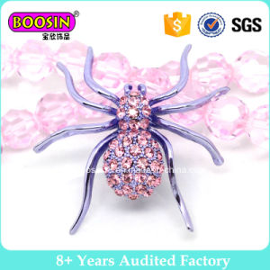 Large Purple Spider Latest Brooch Design pictures & photos