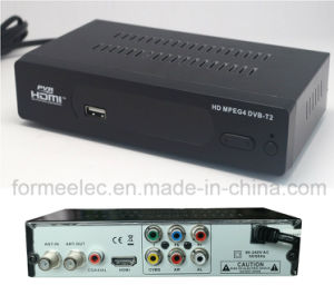 TV Set Top Box STB HD FTA DVB T DVB T2 pictures & photos