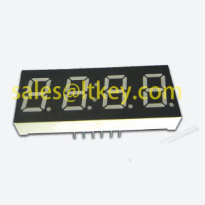 0.56 Inch 4 Digit 7 Segment LED Clock Display pictures & photos