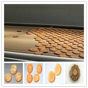 Hot Sale Large Capacity Full-Automatic Cracker Biscuit Machine Line pictures & photos