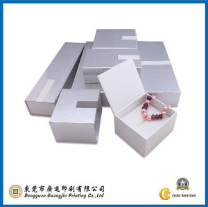 Sliver Paper Jewelry Paper Packaging Box (GJ-Box604) pictures & photos