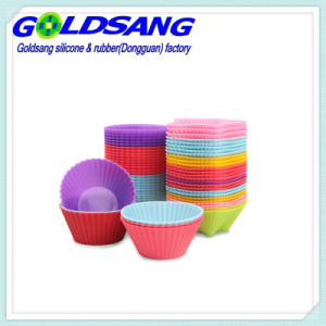 Various Silicone Cake Molds Food Grade Silicone Cup Cake Moulds pictures & photos