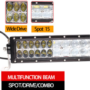 """5D Curved off Road LED Light Bar for Truck 4WD (50"""", 360W, Waterproof IP68) pictures & photos"""