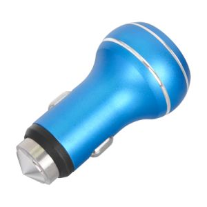 Metal Material Dual Micro 2 Port USB Car Charger pictures & photos