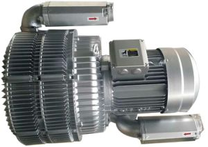 Three Stage High Pressure Side Channel Blower pictures & photos
