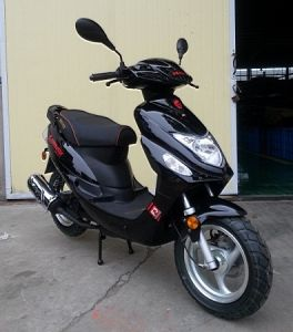 San You 50cc Gasoline Scooter (SY50QT-6) pictures & photos