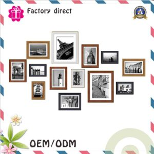PVC Plastic Photo Frame Decoration Frame pictures & photos