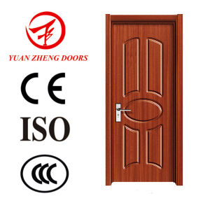 Wood Panel Door Design PVC Wood Door Cheap Wood Door pictures & photos