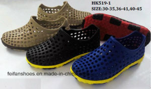 Latest Fashion EVA Garden Shoes Outdoor Slippers (HK519-1) pictures & photos